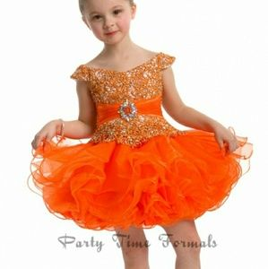 Perfect angel cupcake pageant dress